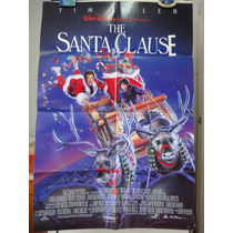 Poster Santa Clausula Tim Allen John Pasquin Walt Disney
