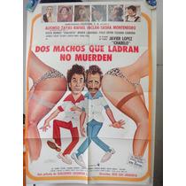 Poster Dos Machos Que Ladran No Muerden Rafael Inclan