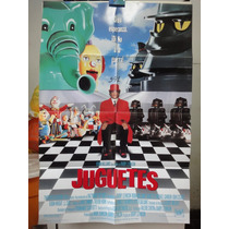 Poster Juguetes Robim Williams Michael Gambon Barry Levinson