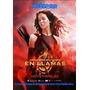 Lona Original De Cine Poster En Llamas Katniss Juegos Hambre