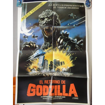 Poster Gojira Godzilla The Legend Is Reborn Raymond Burr
