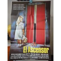 Poster El Ascensor De Lift The Lift Goin Up Huub Stapel 1984