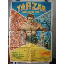 Poster Tarzan Fights For His Life Gordon Scott Eve Brent 58
