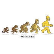 Posters Los Simpsons 5 X $250 Promoción Bart Homero Lisa