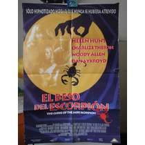 Poster El Beso Del Escorpion Helen Hunt Woody Allen 2001
