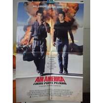 Poster Locos Por El Peligro Mel Gibson Robert Downey Jr 1990