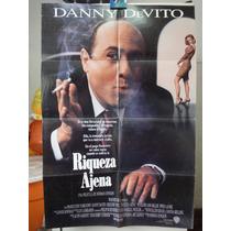 Poste Riqueza Ajena Danny Devito Gregory Peck Norman Jewison