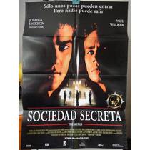 Poste Sociedad Secreta The Skulls Paul Walker Joshua Jackson