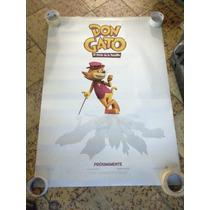 Don Gato Poster De Pelicula