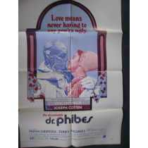 El Abominable Doctor Phibes Vincent Price Afiche 103 X 68 Cm