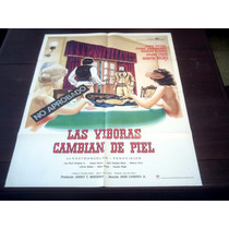 Poster Original Las Viboras Cambian De Piel Guns And Guts