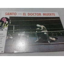 Lobby Card Cartel Cine Santo Contra El Doctor Muerte