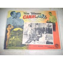 Canas Al Aire Emilio Tuero Lobby Card Cartel Poster