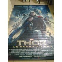 Thor: Un Mundo Oscuro. Lonas Originales De Cine