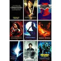 Poster De Cine Sherlock En Llamas Gravedad Watchmen Superman