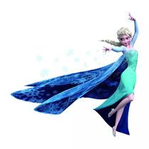 Frozen Elsa Queen Mural Wallpaper Sticker Recamara Princesas