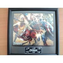 Marvel Avengers Iron Man Autografiado Autientico Envio Grati