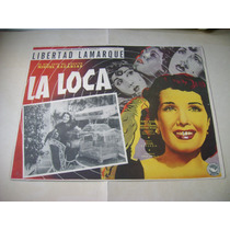 La Loca Libertad Lamarque Lobby Card Cartel Poster