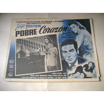 Pobre Corazon Jorge Mistral Lobby Card Cartel Poster