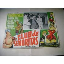 Club De Señoritas Joaquin Pardave Lobby Card Cartel Poster