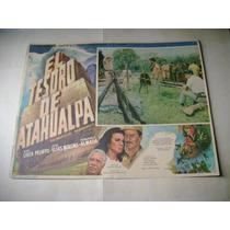 El Tesoro De Atahualpa Fdo. Almada Lobby Card Cartel Poster