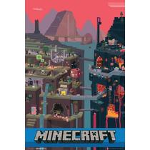 Minecraft Cartel - Maxi Mundial Mojang Culto Independiente