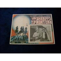 Los Sheriffs De La Frontera Fernando Casanova Lobby Card
