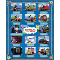 Cartel Thomas The Tank Engine - And Friends Mini 40cmx