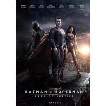 Posters Personalizados Batman V Superman Dawn Of Justice Dc