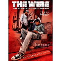 The Wire Season 4 Bajo Escucha Temporada 4 Importacion Dvd