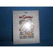 Los Simpsons La Veinteava Temporada 20 Años Blu Ray Vbf