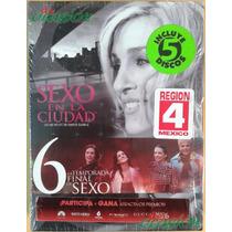 Serie De Tv Sex And The City - Temporada 6, Region 4, 5 Dvds