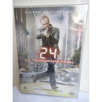 24 Horas La Octava Temporada, Final De La Serie De Tv En Dvd