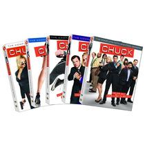 Dvd Chuck La Serie Completa 5 Temporadas Originales