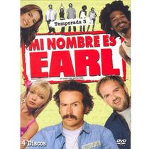 Mi Nombre Es Earl Temporada 3, Tres. Serie De Tv En Dvd