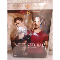 Supernatural Temporada 6, Seis. Serie De Tv En Formato Dvd