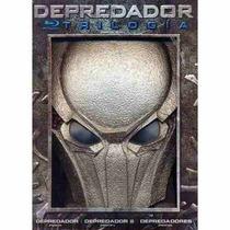 Depredador , Box Set , Trilogia Peliculas 1, 2, 3 , Blu Ray