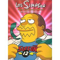 Los Simpsons Temporada 12 Doce . Doceava Serie De Tv En Dvd