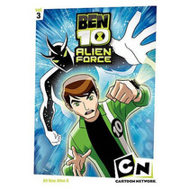 Ben 10 Alien Force: Primera Temporada Vol. 3 Dvd