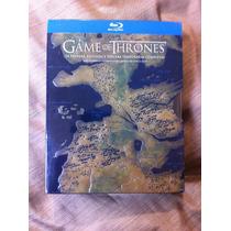 Game Of Thrones - Juego De Tronos - Bluray - Temp: 1, 2 Y 3