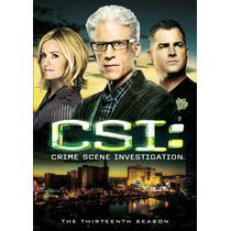 Csi Vegas Temporada 13 Trece Importada Serie De Tv En Dvd