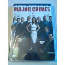 Major Crimes La Primera Temporada Completa Nuevo Cerrado Nac