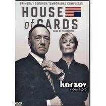 House Of Cards Paquete Temporadas 1 Y 2 , Serie Tv En Dvd