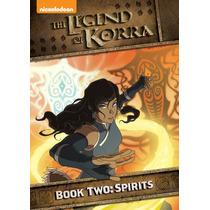 Avatar , La Leyenda De Korra Libro 2 Spirits Disco Serie Dvd