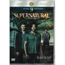 Supernatural Temporada 9 Nueve Tv Horror Misterio Dvd