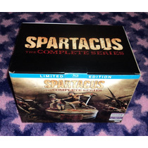 Spartacus : La Serie Completa - Bluray Limited Edition Usa
