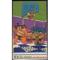 Super Mario Bros Vhs Dibujos Animados 1990 Rarisimo