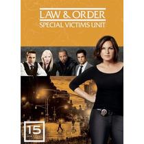 La Ley Y Orden Uve Temporada 15 , Quince Serie Tv En Dvd