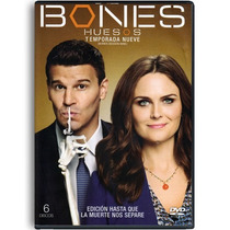 Bones Huesos Temporada 9 Nueve Serie Tv Dvd