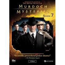 Murdoch Mysteries Temporada 7 Importada Serie De Tv En Dvd